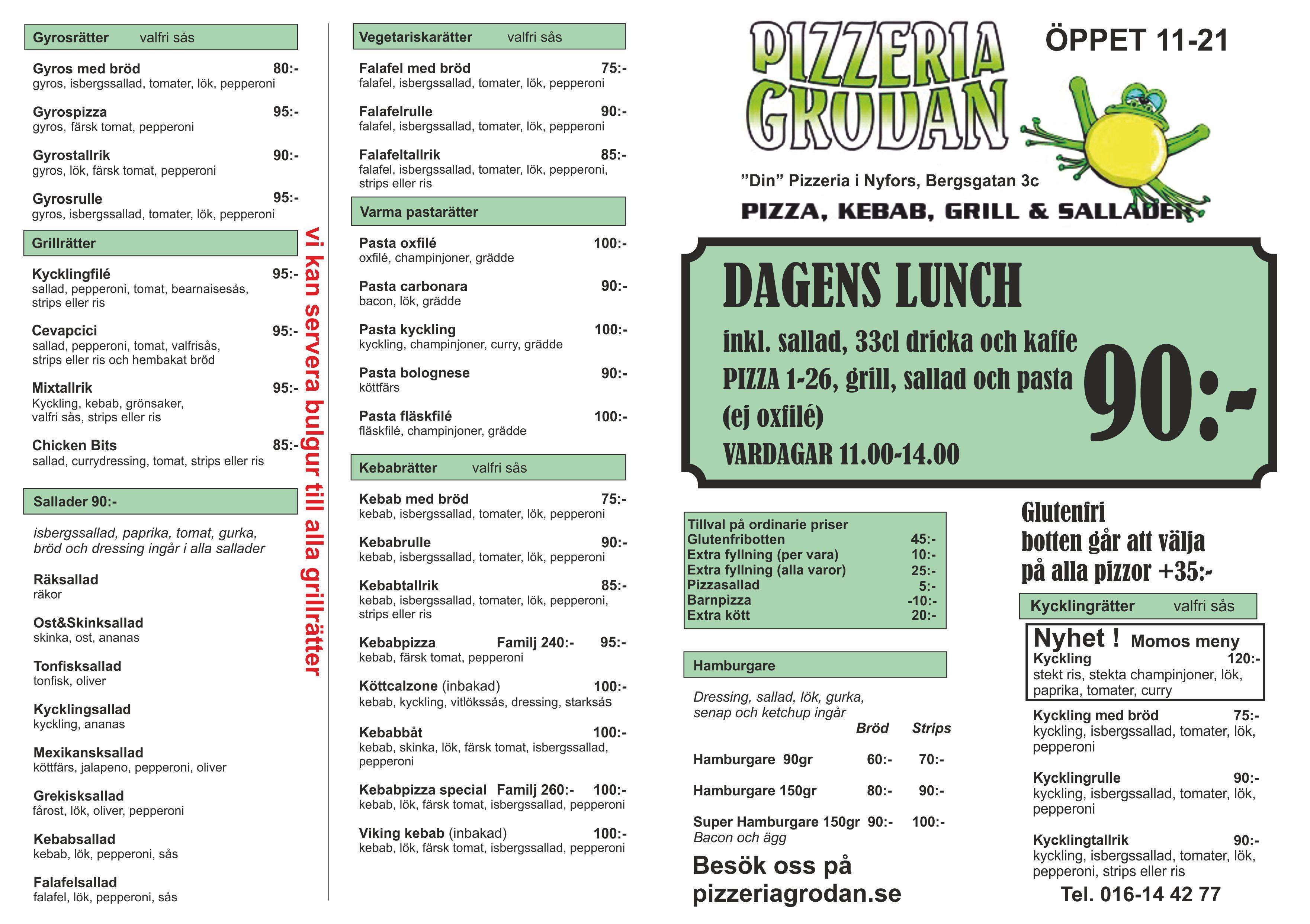 pizzeria grodan nyfors